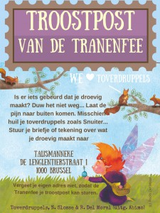 Troostpost flyer